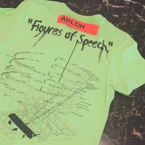 Off-White Shirts - Virgil Abloh MCA Chicago T-Shirt
